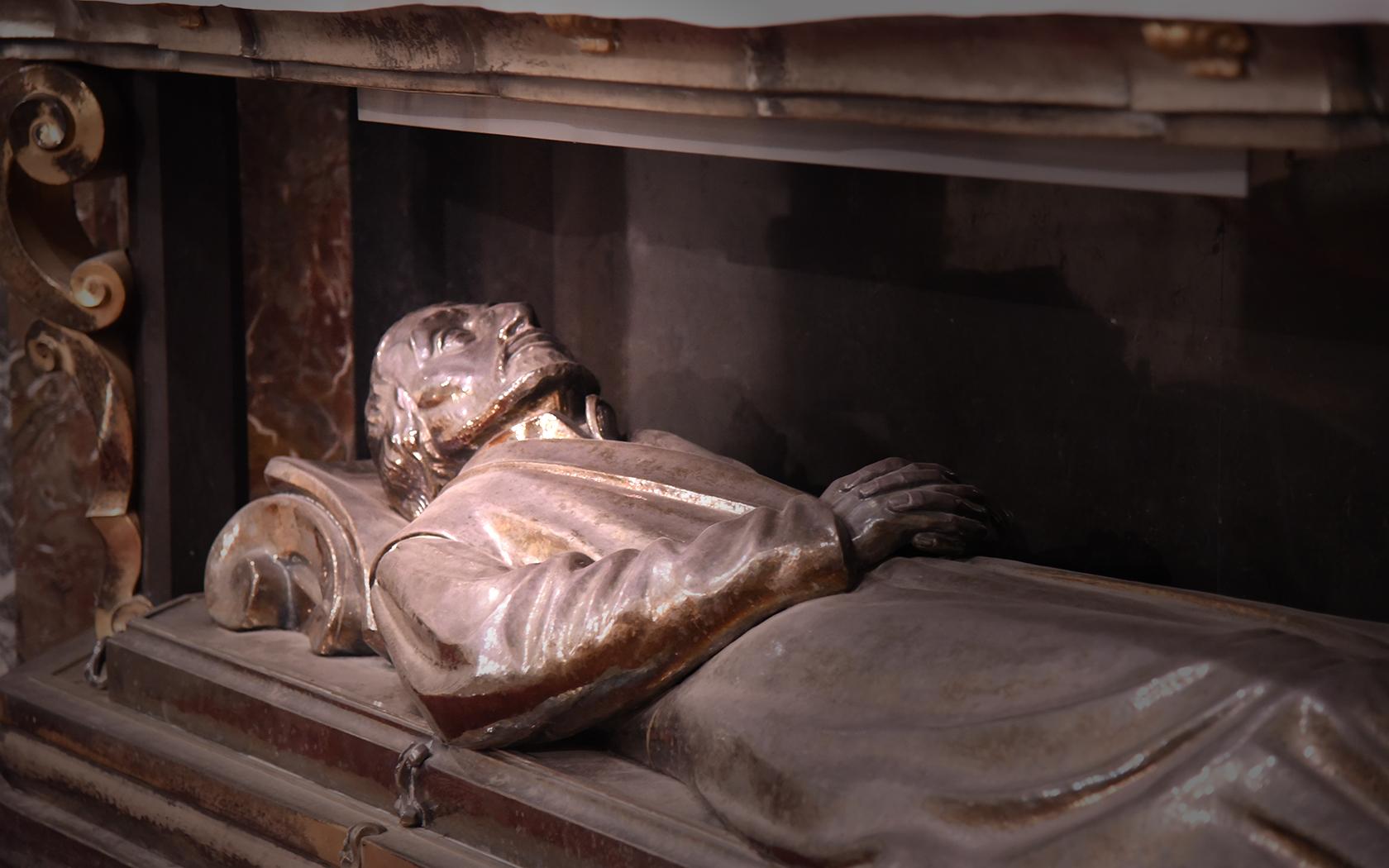 Reliques de saint Pierre Canisius, église Saint-Michel, Fribourg (Photo: Pierre Pistoletti)